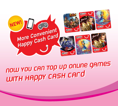 now you can top up online games with dtac prepaid cash card dtac - Prepaid Cash Card
