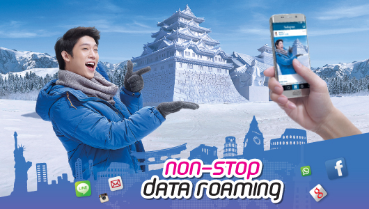 Non-stop Data Roaming
