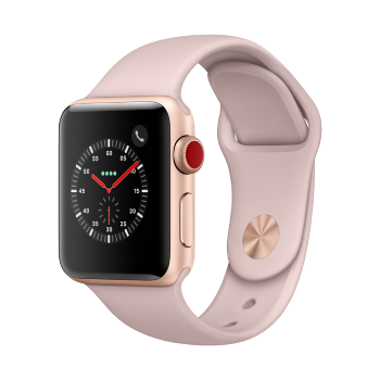 Apple Watch Series 3 (GPS + Cellular) - 38mm, Gold