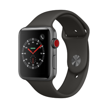 Apple Watch Series 3 (GPS + Cellular) - 42mm, Space Grey