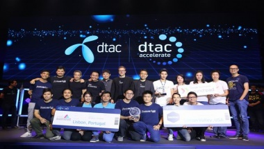 Winners from dtac accelerate Demo Day batch 4