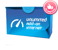Unlimited Add-on Internet Package 399