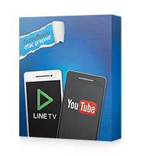 Watch YouTube & LINE TV 500MB