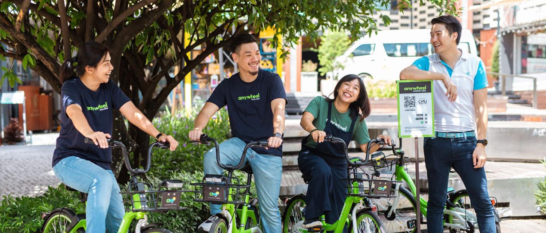 เอนี่วิลจักรยานสาธารณะ มอบทางเลือกการสัญจรให้ชาวเชียงใหม่ช่วยลดมลพิษ