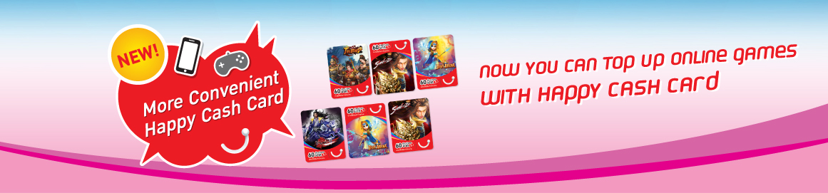 Now you can top up online games with dtac prepaid Cash Card   dtac