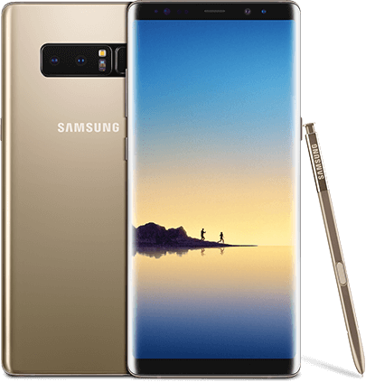 Samsung Galaxy Note8 - Maple Gold