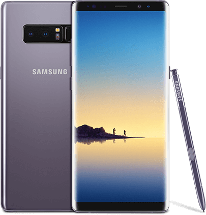 Samsung Galaxy Note8 - Orchid Gray